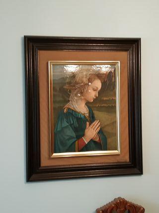cuadro con imagen religiosa