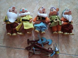 Enanitos Disney Blancanieves