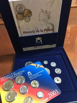 Colección Ultimas Pesetas