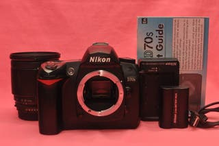 Nikon D70S Cámara Reflex Digital