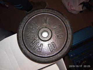 Pesa/Disco 10kg + regalo disco 3kg
