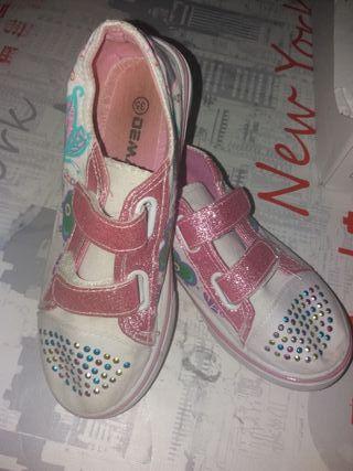 zapatillas chica 35