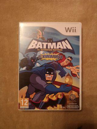 batman el intrépido Batman wii