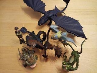 Figuras de como entrenar a tu dragón