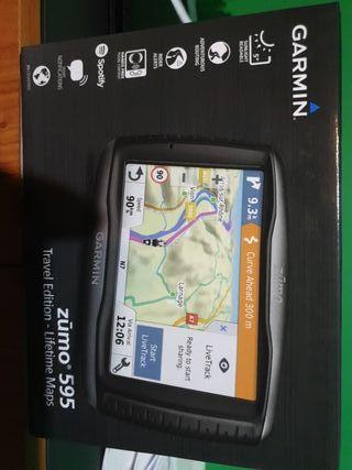 navegador GPS garmin zumo 595