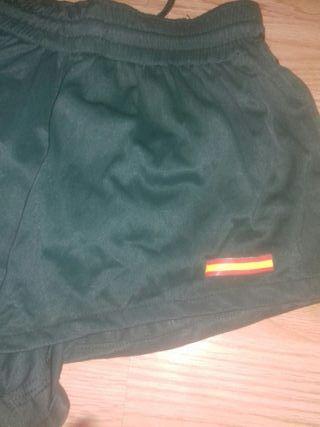 pantalones cortos militares talla m