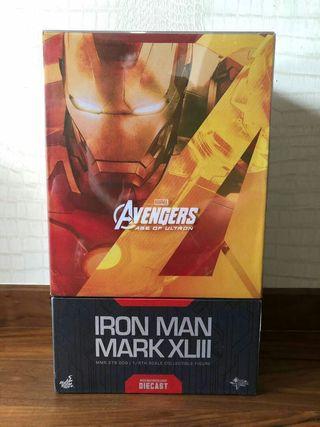 hot toys Ironman Mark 43 Die Cast