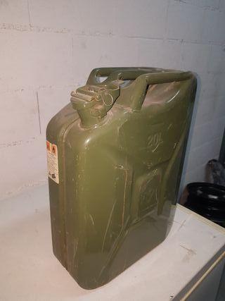Garrafa gasolina vintage de 20L