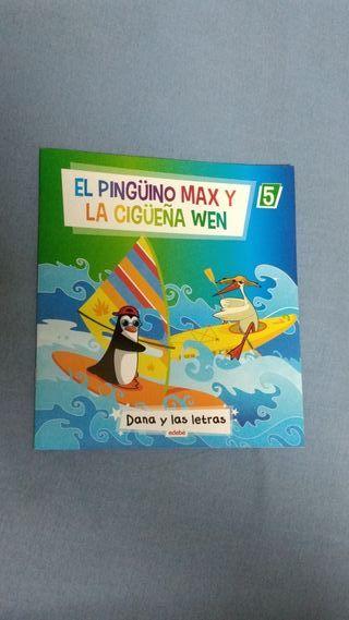 Libro El Pingüino Max y la Cigüeña Wen