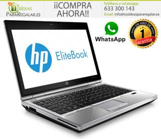 Portátil HP EliteBook 2570P, i5 / SSD / 8Gb / Wind