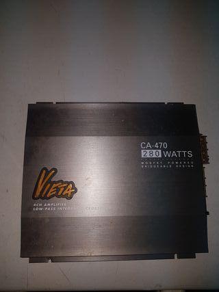 Amplificador / etapa potencia coche Vieta