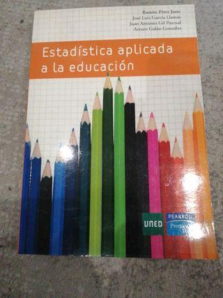 Estadística aplicada a la educación. Uned