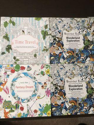 Libros MANDALAS de viaje para colorear. Nuevos