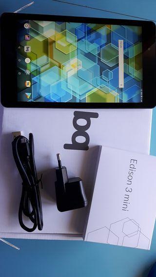 """Tablet Bq Edison 3 mini 8"""" como nueva"""