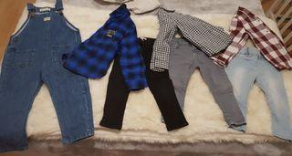 lote ropa niño invierno