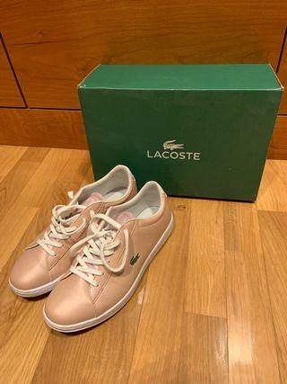 Vendo zapatillas de piel Lacoste. Talla 39