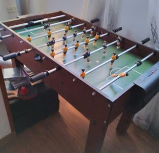 Futbolín / Mesa multi juegos ping-pong y Billar