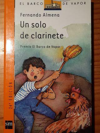 """Libro para 9+ años """"Un solo clarinete"""""""
