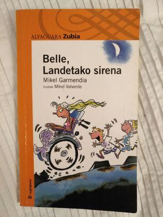 "libro ""Belle, Landetako sirena"" liburua"