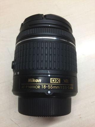 Objetivo Nikon estabilizado Nikkor 18-55 VR