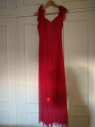 vestido de una sola puesta