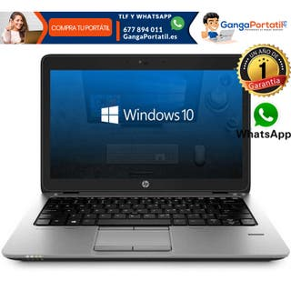 Portátil Hp EliteBook 820 G1, i5 / 8Gb Ram / 500Gb