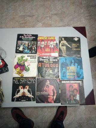 vendo discos vinilos singles