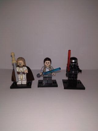 Figuras Star Wars Episodio VIII tipo LEGO