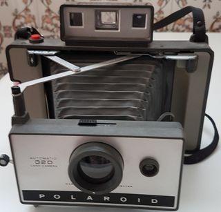 Camara Fotos Polaroid 320. Funciona Bien Cuidada