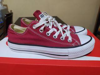 Zapatillas Converse rojas talla 37