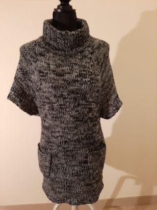 Vestido lana corto