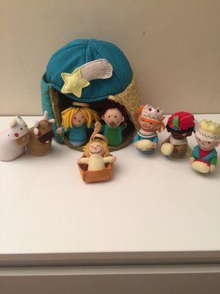 Belén de juguete de tela para niños Imaginarium