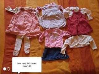 lotes de ropa de niña
