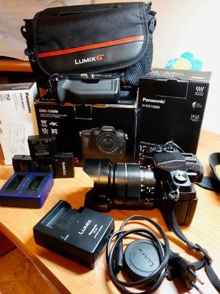Panasonic G80+Leica 12-60mm+accesorios