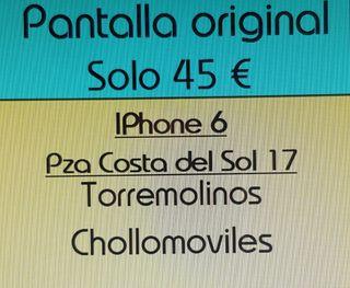 Cambio Pantalla original iPhone 6