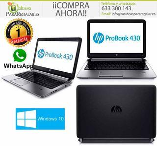 Portátil Hp ProBook 430 G2, i3 / SSD / Web Cam / W