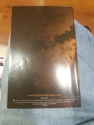 Manual de Instrucciones God Of War 1 Ps2