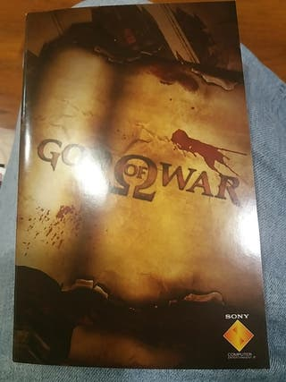 Manual de Instrucciones God Of War 1 Ps2
