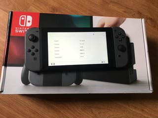 NINTENDO SWITCH VULNERABLE + GARANTÍA Y SEGURO