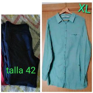 Camisa y Pantalón mujer 5€