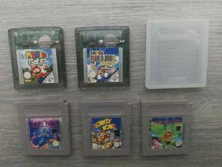 Juegos Game Boy. NINTENDO