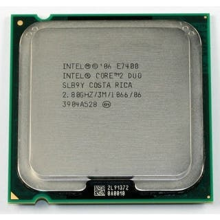 Procesador INTEL Core 2 Duo e7400