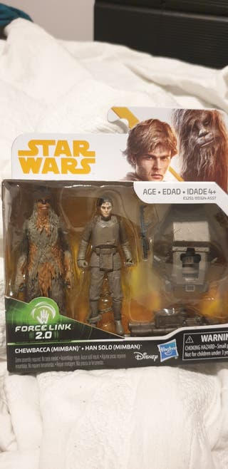 Star Wars Han Solo y Chewbacca en Mimban