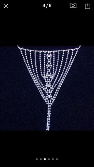 Tanga sexy de crystales