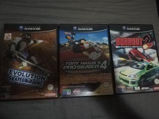 Juegos GameCube pal españa
