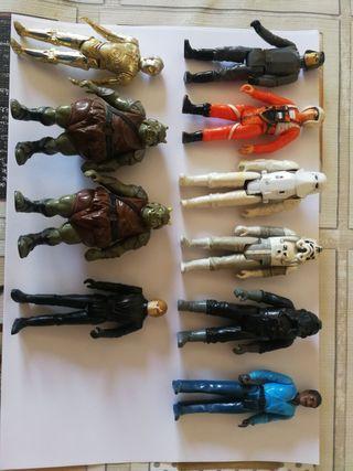 lote de figuras Star wars vintage