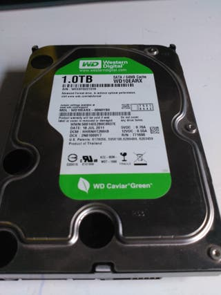 Disco duro 1 TB Wester Digital