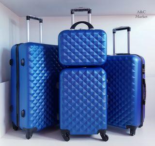 Set 4 maletas rígidas