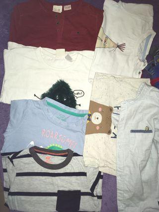 Lote de ropa niño
