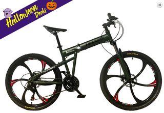 Bicicleta de montaña plegable Helliot Hummer